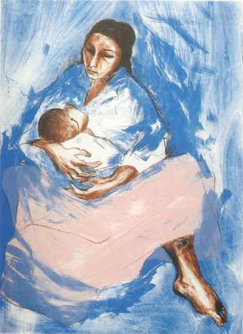 breastfeeding art - breastfeeding