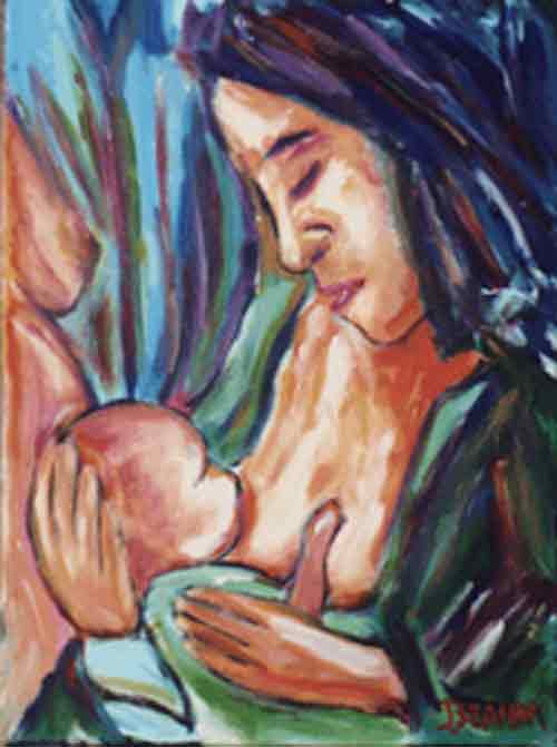 Breastfeeding the World Art