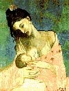 breastfeeding, picasso